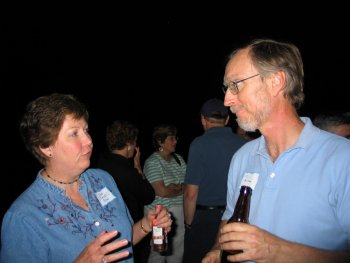 Janis Row (Jones) and Rick Ahlstrom