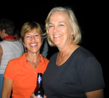 Mary Ehard (Houck) and Karen Hudson